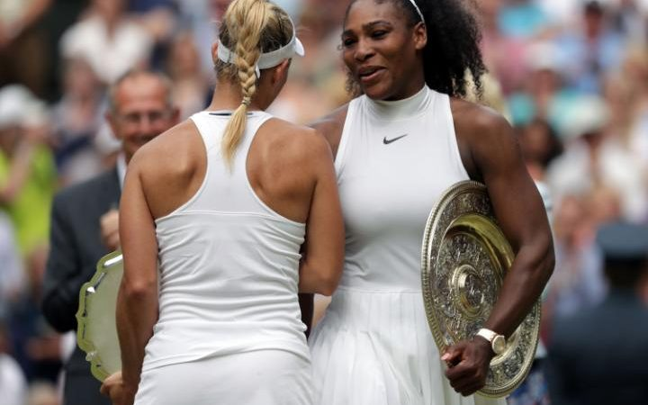 Serena Williams, Angelique Kerber, Wimbledon 2016, Credit: PA, The Telegraph